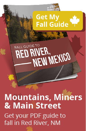 Mountains, Miners, and Main Street. Get your PDF guide to fall in Red River, NM