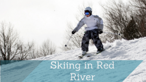 Skiing in Red River