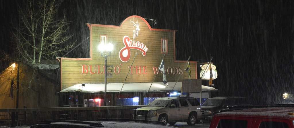 Bull O The Woods Saloon Exterior